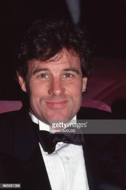 L'acteur Brad Davis au Festival de Cannes le 18 mai 1989 France