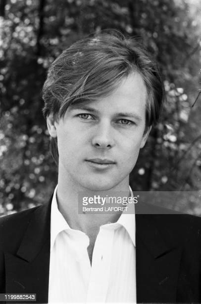 L'acteur britannique John MoulderBrown lors du Festival de Cannes en mai 1982 France
