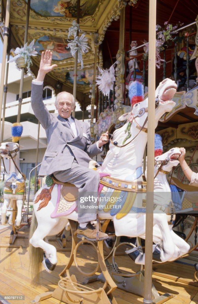 Portrait de Louis Ducreux à Cannes en 1984 : News Photo