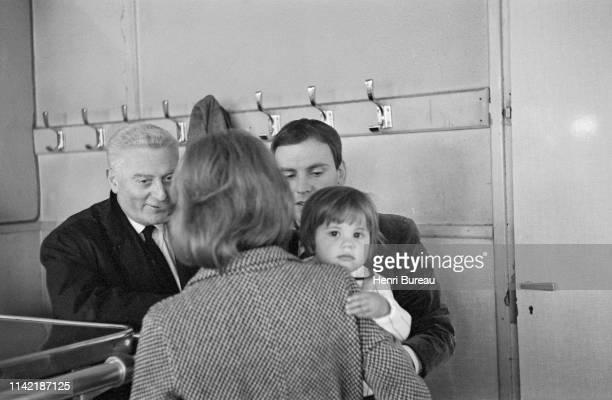 L'acteur français JeanLouis Trintignant et sa fille Marie Trintignant