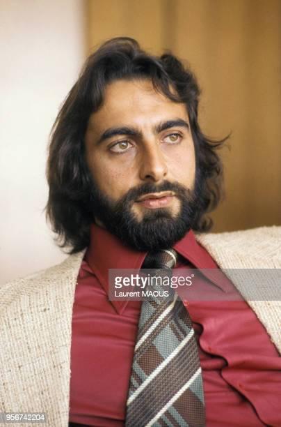 L'acteur indien Kabir Bedi circa 1980 en France