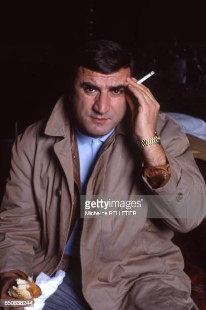 L'acteur italien Aldo Maccione à Paris le 18 décembre 1984 France