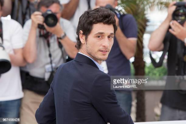 Acteur Jeremie Elkaim lors du photocall du film 'Marguerite & Julien' pendant le 68eme Festival du Film Annuel au Palais des Festivals le 19 mai...