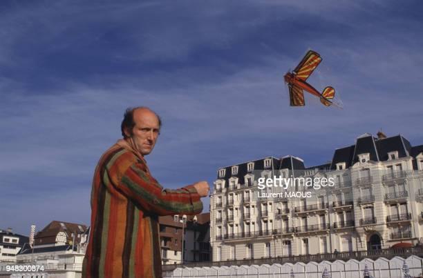 L'acteur Rufus au Festival du film romantique en juin 1987 à Cabourg France