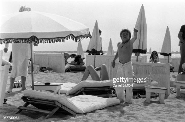 L'acteur suisse David Bennent lors du Festival de Cannes le 22 mai 1979 France