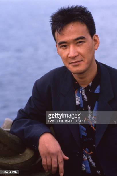 L'acteur Yusaku Matsuda le 11 mai 1988 à Cannes France