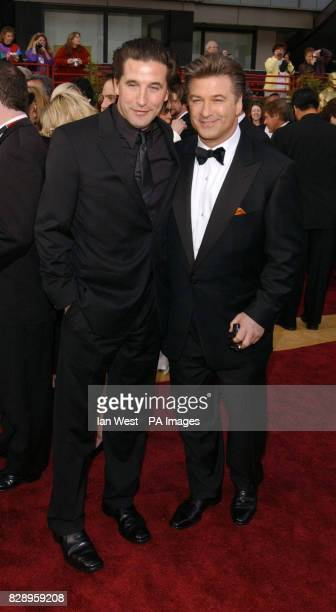 Acting brothers William and Alec Baldwin arrive at the Kodak Theatre in Los Angeles for the 76th Academy Awards Alec is wearing a suit by Ermenegildo...