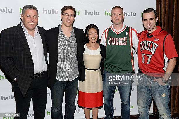 Acting CEO Andy Forssell Creator/Director/Executive Producer Josh Greenbaum Hulu original content development executive Charlotte Koh Kevin...