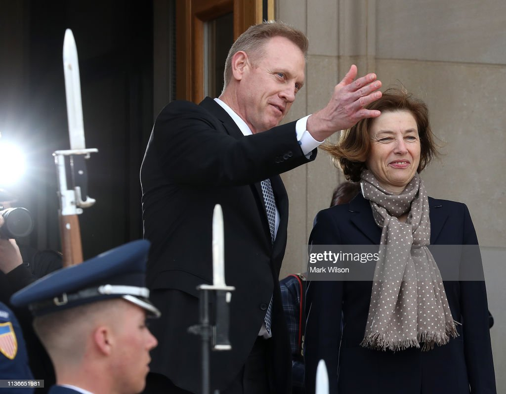 VA: Acting Defense Secretary Shanahan Welcomes His French Counterpart To The Pentagon