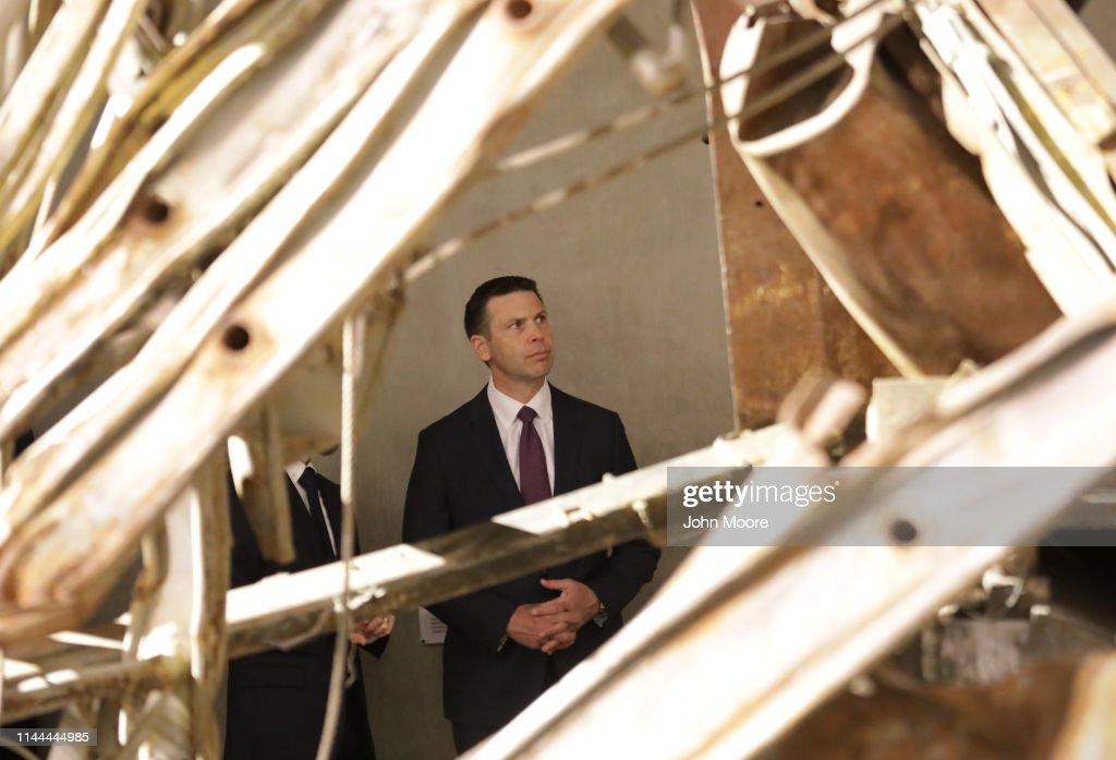 NY: Acting DHS Secretary Kevin McAleenan Visits September 11 Memorial In New York