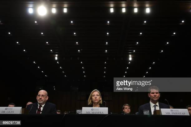 Acting Director of Homeland Security's Office of Intelligence and Analysis Cyber Division Sam Liles Homeland Security Undersecretary Jeanette Manfra...