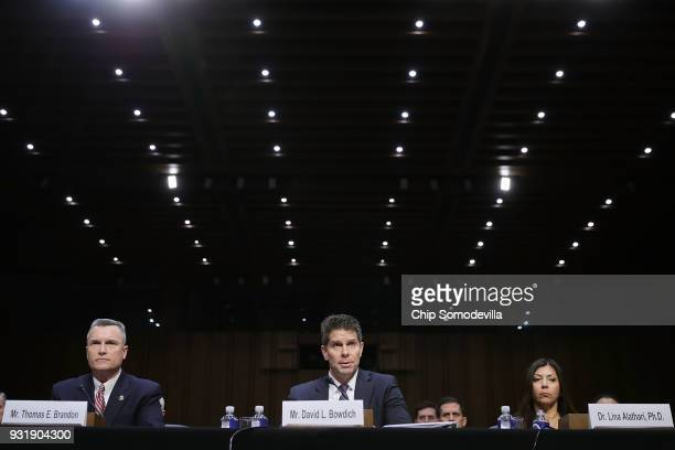Acting Director of the Bureau of Alcohol Tobacco Firearms and Explosives Thomas Brandon Acting Deputy Director of the Federal Bureau of Investigation...