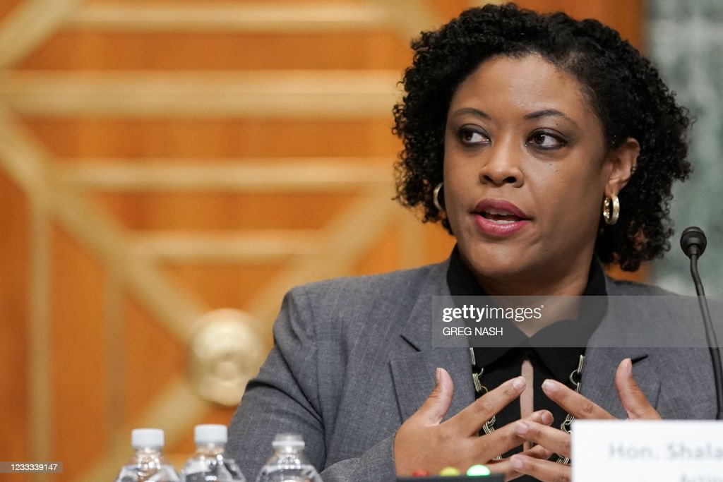US-POLITICS-HEARING-FY2022-BIDEN : News Photo