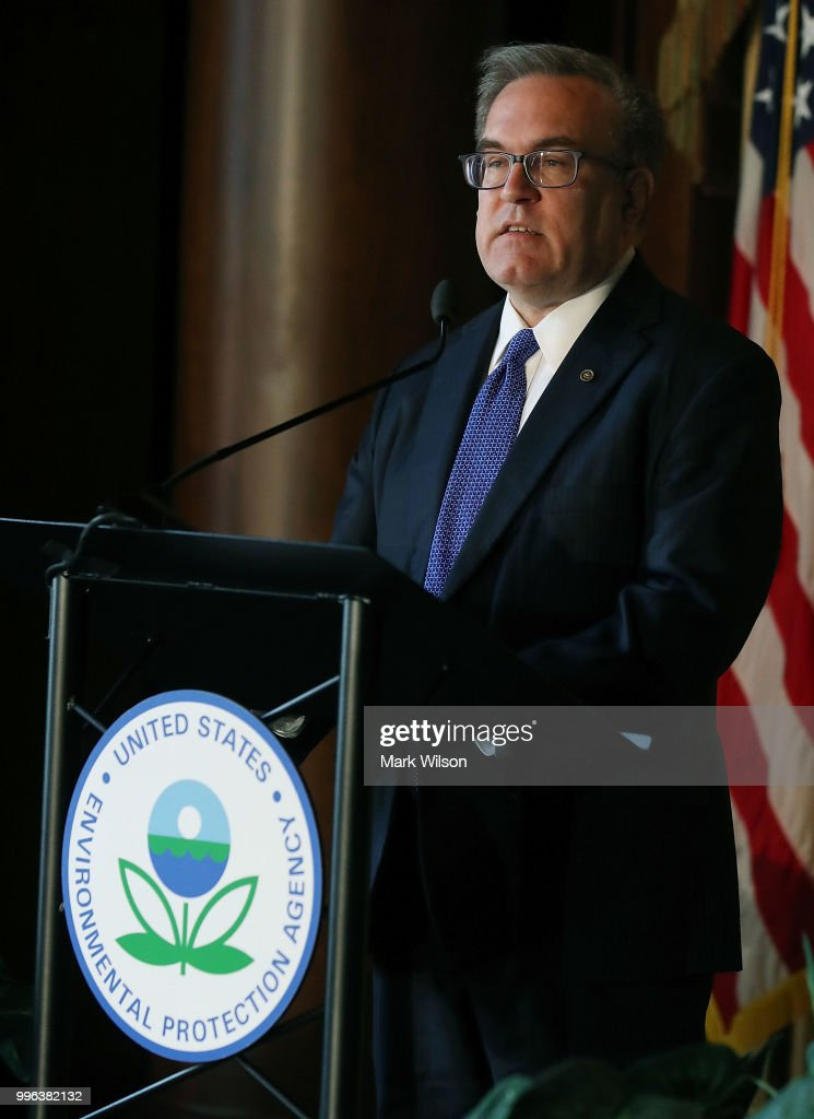 Acting EPA Administrator Andrew Wheeler Addresses Staff At EPA Headquarters