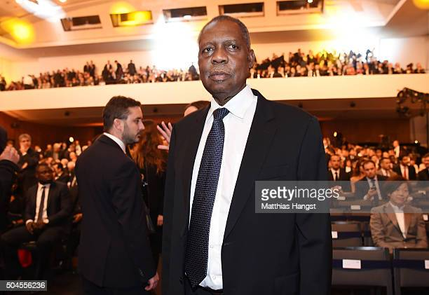 Acting FIFA President Issa Hayatou attends the FIFA Ballon d'Or Gala 2015 at the Kongresshaus on January 11, 2016 in Zurich, Switzerland.