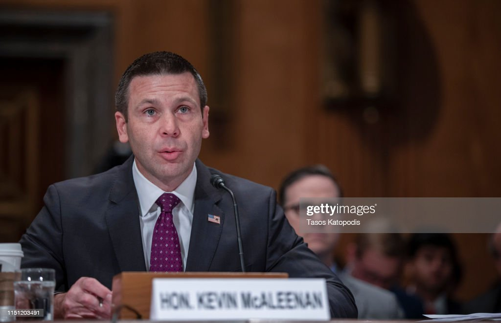 DC: Acting Homeland Security Secretary Kevin McAleenan Testifies Before Senate