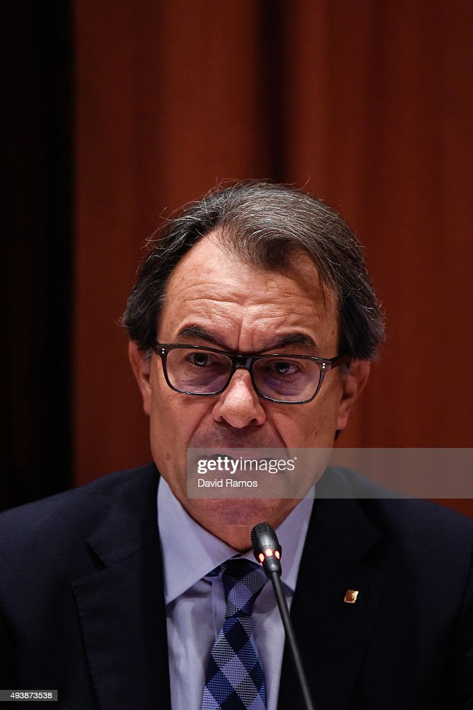 Artur Mas Appearance Over Alleged Corruption In Awarding Of Contracts For Public Works