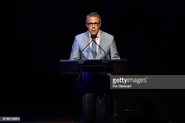Acting President of Lincoln Center for the Performing Arts Russell Granet speaks onstage Lincoln Center Corporate Fund's Stand Up Sing for the Arts...