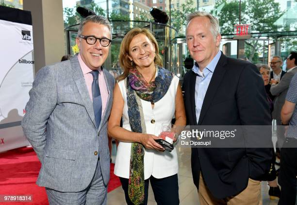 Acting President of Lincoln Center for the Performing Arts Russell Granet Deborah D Montaperto and David Beach attend Lincoln Center Corporate Fund's...