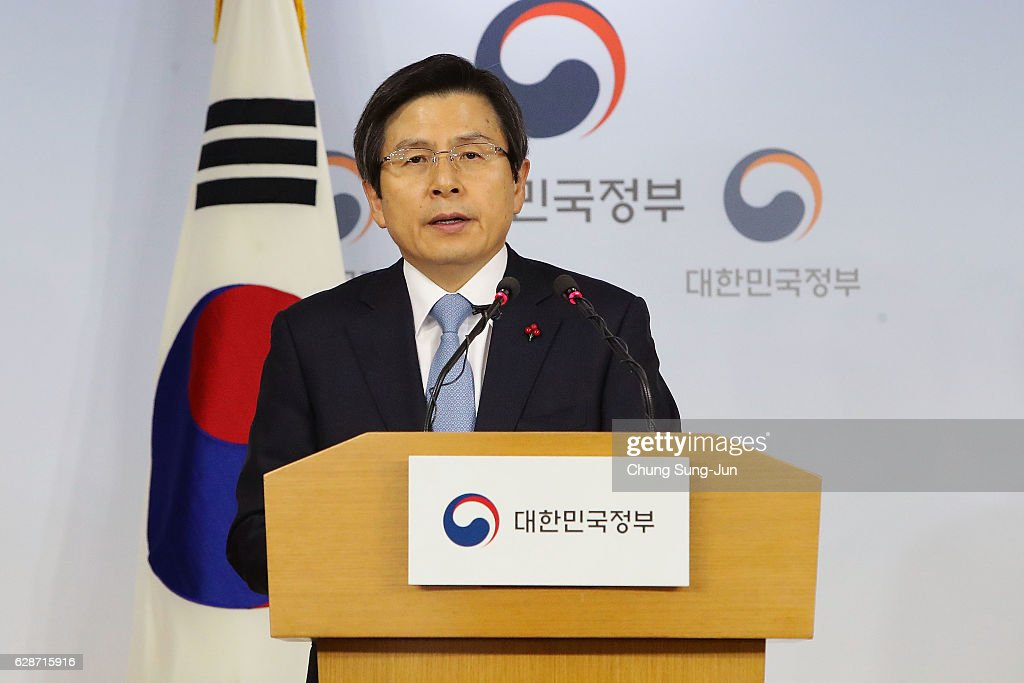 South Korea Reacts To Parliament's Decision On President Park's Impeachment Trial : News Photo