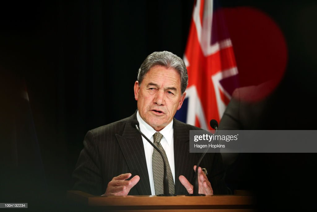 Acting Prime Minister Winston Peters Post-Cabinet Press Conference