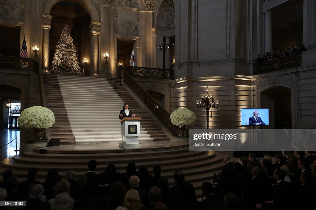 Celebration Of Life Service Held For Late San Francisco Mayor Ed Lee