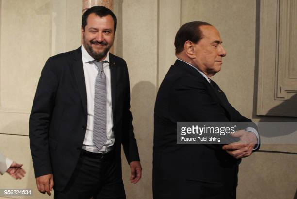 Acting Secretary of the Democratic Party Maurizio Martina speaks the media after a meeting with Italian President Sergio Mattarella at the Quirinale...