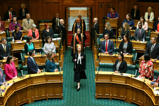 NZL: Commission Opening Of New Zealand's 53rd Parliament
