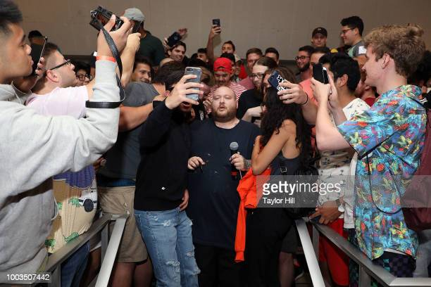 Action Bronson performs during the 2018 Louis Armstrong's Wonderful World Festival on behalf of the Louis Armstrong House at Kupferberg Center for...