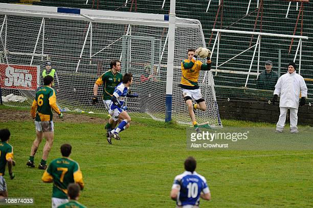 Action during The Allianz GAA National Football League match between Laois and Meath at O'Moore Park on February 06 2011 in Portlaoise Ireland