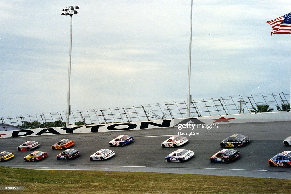 Action during the NASCAR Dash Series Discount Auto Parts 200 at