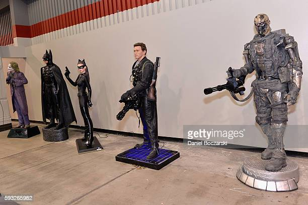 Action Figures on display during Wizard World Comic Con Chicago 2016 Day 4 at Donald E Stephens Convention Center on August 21 2016 in Rosemont...