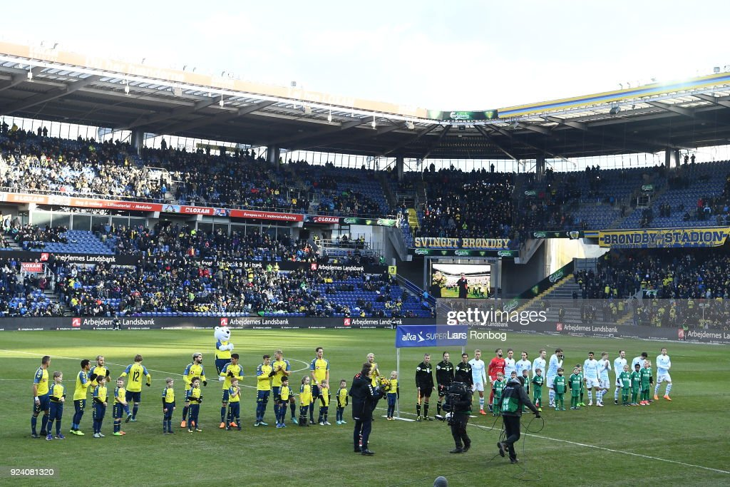 Brondby IF vs FC Helsingor - Danish Alka Superliga