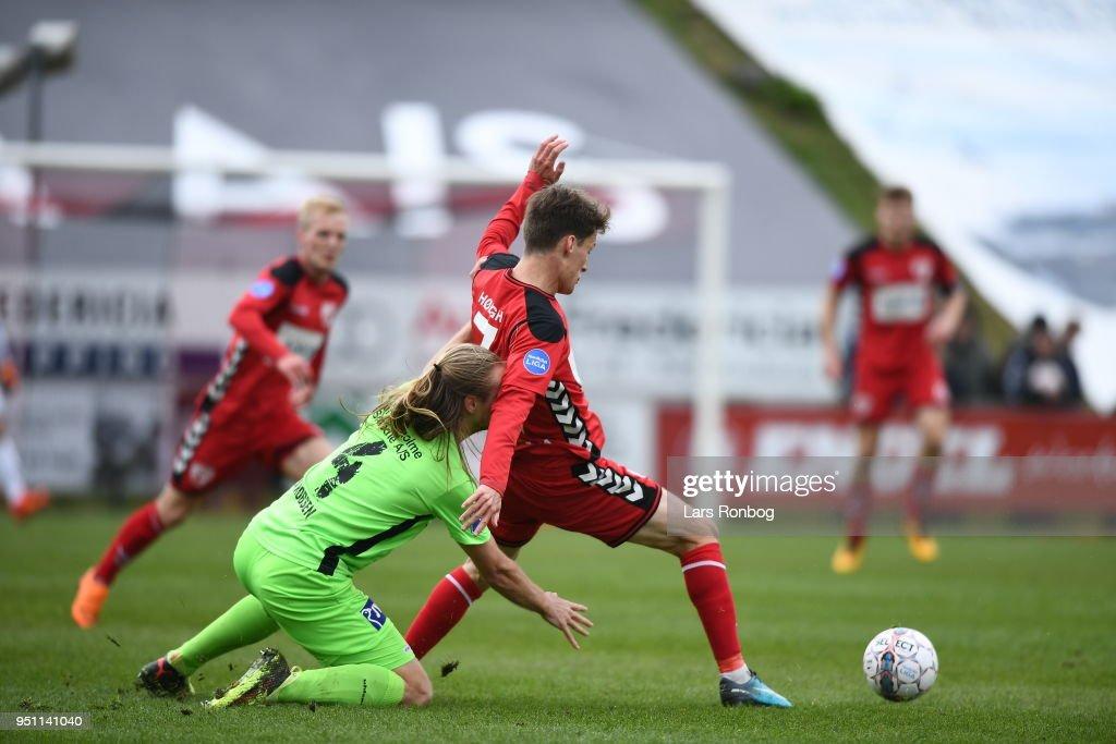 FC Fredericia vs Silkeborg IF - Danish DBU Pokalen Cup Semifinal