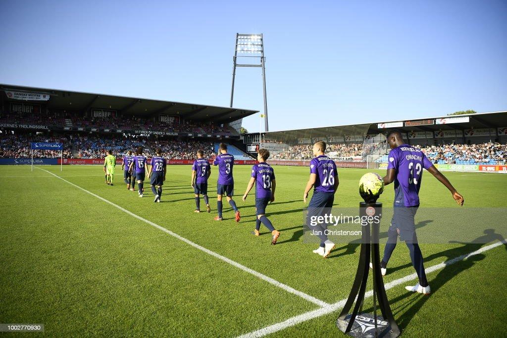 AaB Aalborg vs FC Midtjylland - Danish Superliga