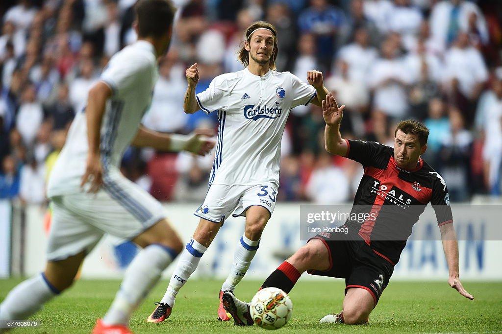 FC Copenhagen vs Crusaders FC - UEFA Champions League Qualifier : News Photo