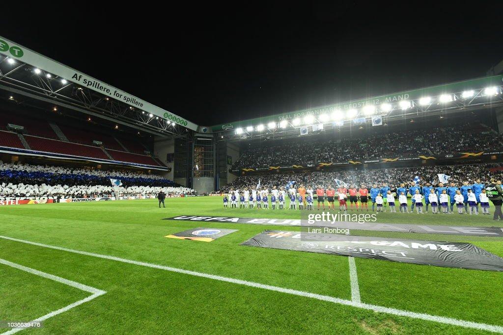 FC Copenhagen vs FC Zenit - UEFA Europa League