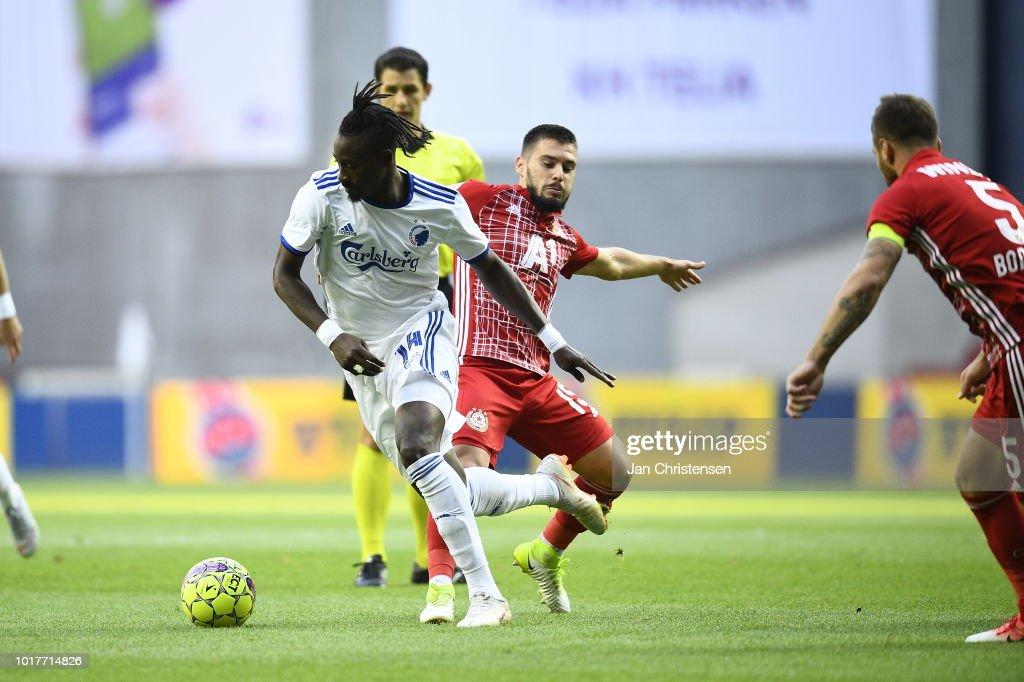 FC Copenhagen vs CSKA Sofia - UEFA Europa League Qual