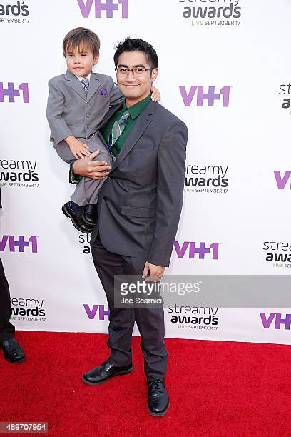 Action Movie Kid attends VH1's 5th Annual Streamy Awards at Hollywood Palladium on September 17 2015 in Los Angeles California
