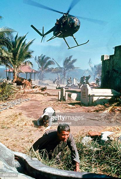 Action scene from film Apocalypse Now