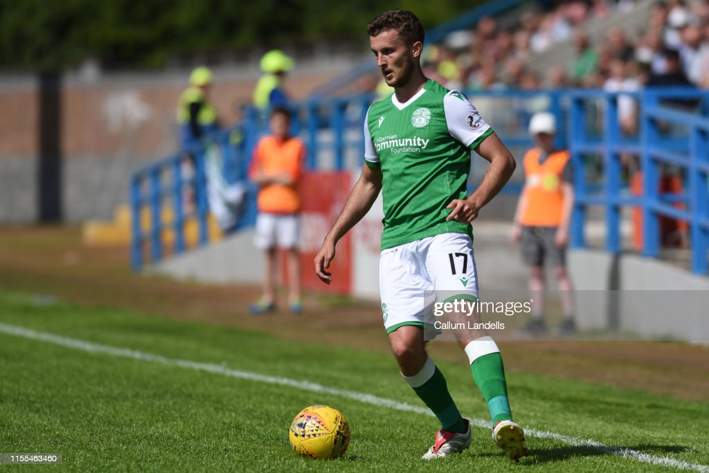 Stirling Albion v Hibernian - Scottish League Cup : News Photo