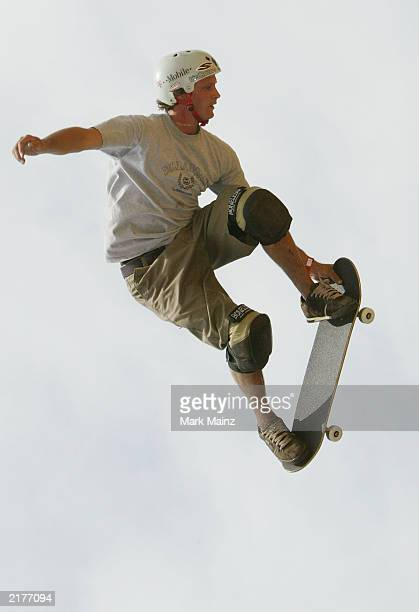 "Action sports athlete Bucky Lasek at the ""T-Mobile Ramps and Amps Invitational"" July 19, 2003 Randalls Isalnd in New York City."
