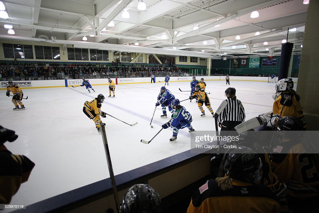 Connecticut Whale vs Boston Pride. National Women's Hockey League. : News Photo