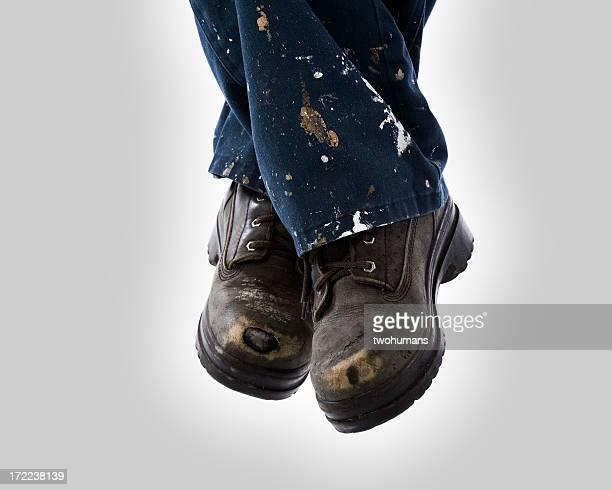 Aktive Füße-Konstruktion Stiefel