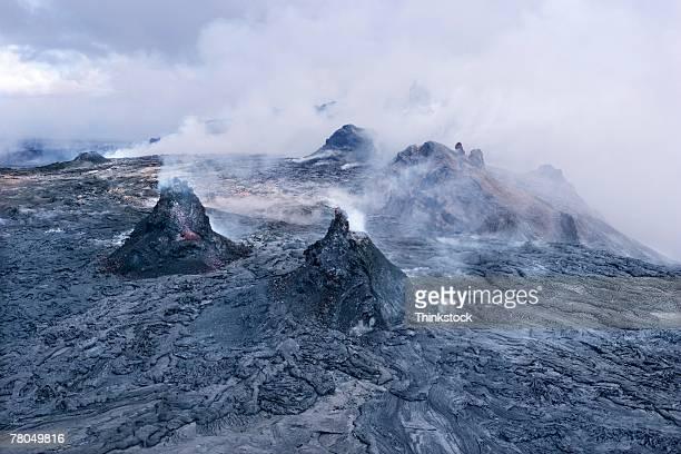Active Hawaiian volcano