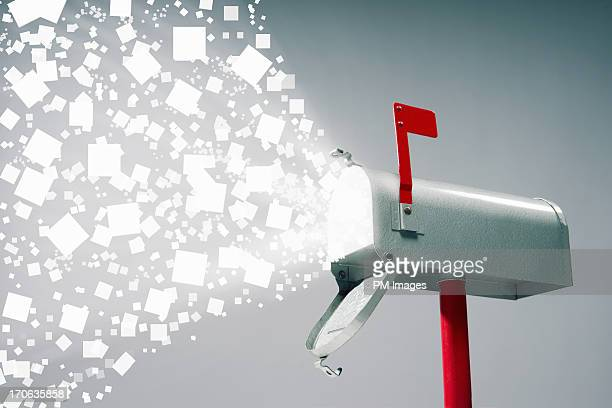 active mailbox - domestic mailbox stock pictures, royalty-free photos & images