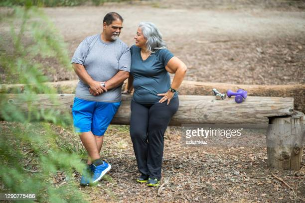 active mature mexican couple - adamkaz stock pictures, royalty-free photos & images