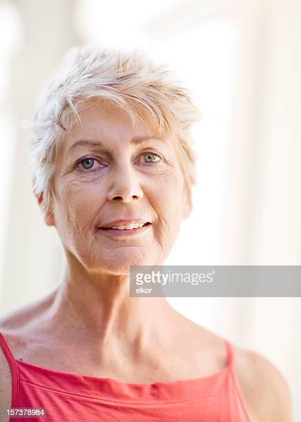 Active mature woman