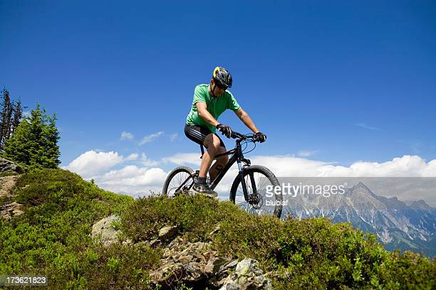 Active. Mountain Biking Panorama