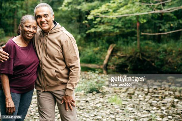 active seniors spending time together - ontario canada stock pictures, royalty-free photos & images